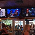Lots of large TVs