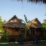 Roundhouse Bamboo bungalows