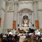 The inside of San Vidal