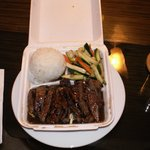 The 12-Ounce Teriyaki Steak from the Honokowai Okuzuya