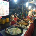 food at night markets nearby