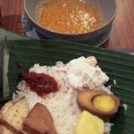 its my dinner, called it NASI LIWET