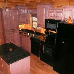 One f the few full kitchens in Brothers Cove