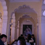 The beautiful Mehran Cafe @ Mehrangarh Fort
