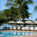 Deck, piscina e praia