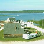 Jackson Harbor/Rock Island View