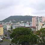 Vista desde el Hotel al Cerro Ancón