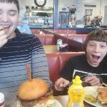 Burgers at Fat Ernie's