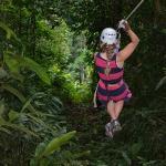Zipline through the Rain Forest!