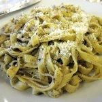 Fettuccini with truffle sauce