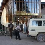 Entry to Ngorongoro Wildlife Lodge