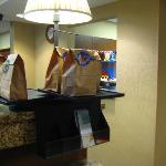 Breakfast bags!