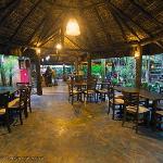 salao do restaurante e café da manha