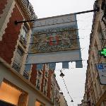 Entry way into Arras shopping area