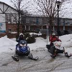 snowmobile enthusiasts stay at the Inn