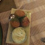 Crab Croquettes just melt in the mount so light and full of flavour