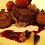Beef Tenderloin w/ braised mustard seeds