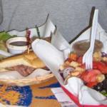 Roast Beef Sandwich & Garden Salad