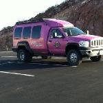 the Pink Jeep!!!