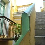 Siarcase leading to the terrace