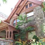 Exterior of the Molly Brown House.