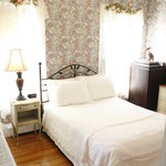 The cozy Rose Room is perfect for singles or couples.