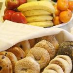 Enjoy Boston's best bagels as part of our daily Continental breakfast.