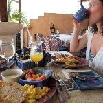 Brakfast at Cafe Luna