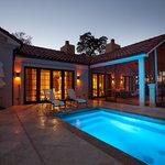 Hacienda Porch and Plunge Pool