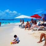 Plage Johnny cay
