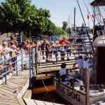 Sheboygan boardwalk and charter fishing