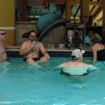 Great swim up bar