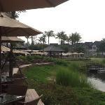 Breakfast on the lagoon