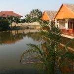 Jaidee Hotel, Hua Hin. The lake