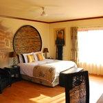 Each suite is uniquely decorated