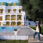 Hotel & garden  terrace