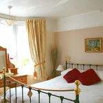 A double en-suite room