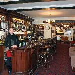 The main bar in  the George