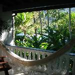 View of our balcony in room 7