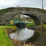 Ballycommon Bridge is outside your window.