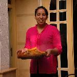 Nezha toujours prête à vous faire déguster une excellente cuisine