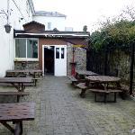 O'Faolain's beer garden