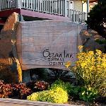 Ocean Inn welcome sign.