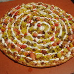 The Twist, our most Famous Pizza