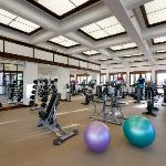 New!  3,000 sq ft. Fitness Center