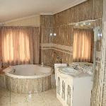 Jacuzzi in one of the two bedroomed apartment, o