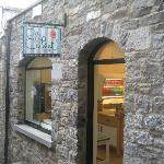 Stone front on The Sweet Shop