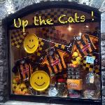 Sweet Shop Window at All Ireland Final Time