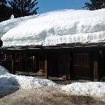 Front entrance to Chalet Dahu