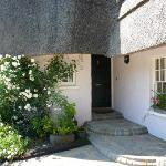 Front Entrance - showing some of the beautiful climbing roses